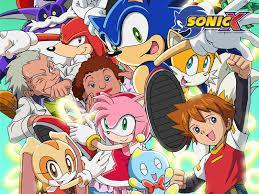 6.Where did sonic crash into on SonicX