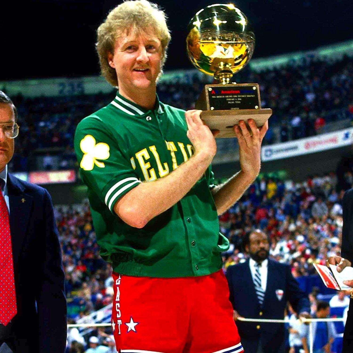 The three-point shootout of 1987 saw Larry Bird and what Celtics player go head-to-head for a chance to win $86,000!
