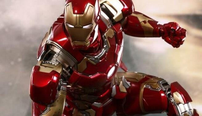 What is Iron Man's suit made out of?