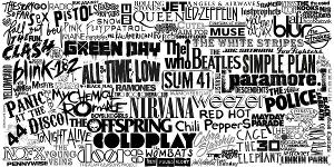 Who is your favourite band out of these?  All of them are cool, so no one's judging you ;)