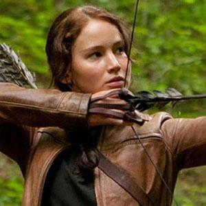 What colour dress was Katniss wearing at the reaping?