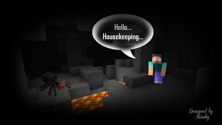 What are you scared of in minecraft?