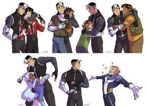 What Voltron Ship Appeals to you Most? (I really only put popular ships, not all of them, so if you do not see yours, simply just click a random one or 'other')