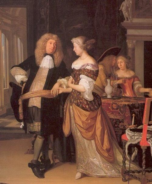 Who did Domenico Scarlatti married in 1742?