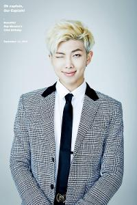 Rap Monster is the.......
