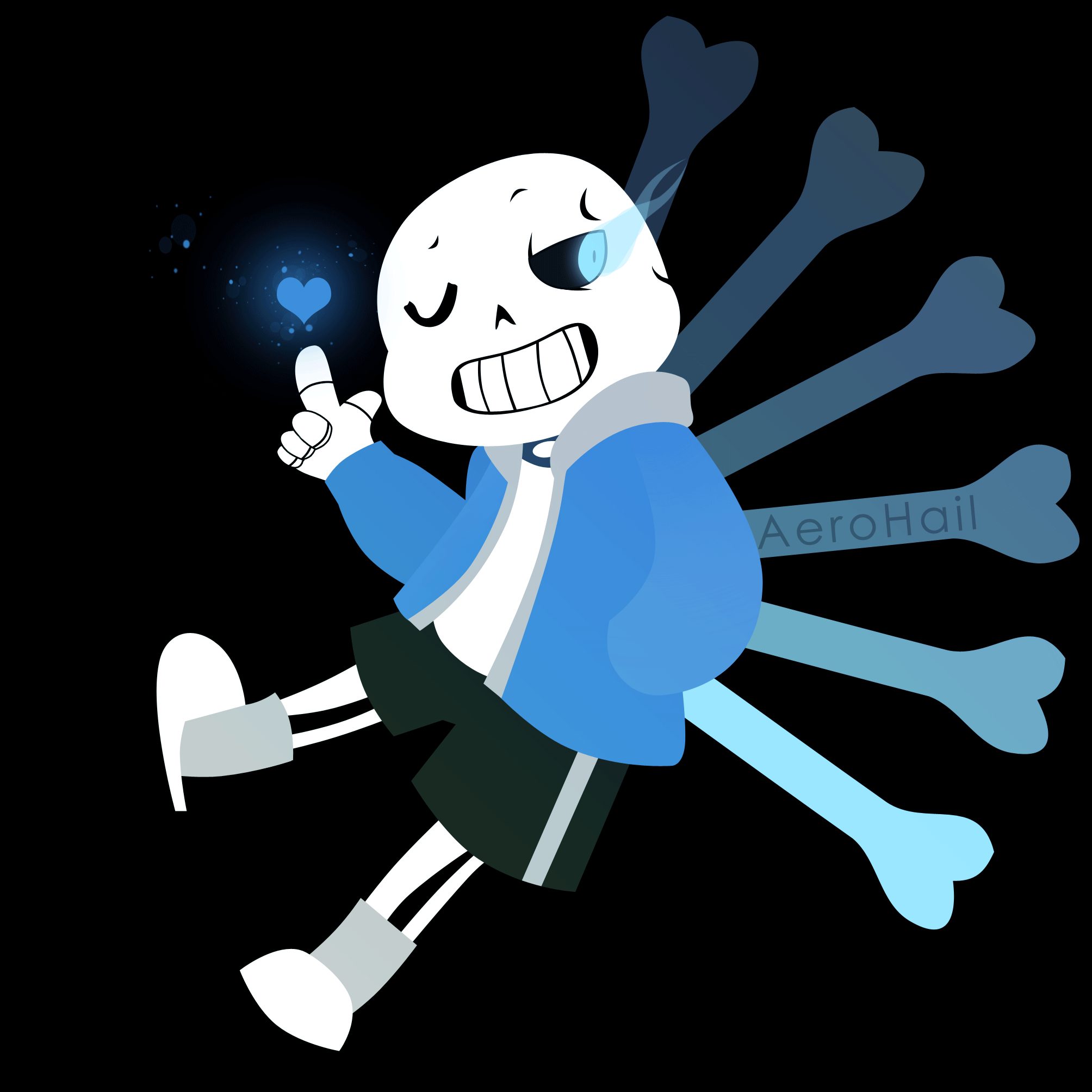 What theme belongs to Sans? (battle in genocide run)