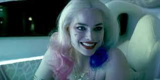 In suicide squad, what does harley's  t shirt say?