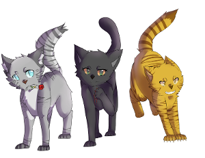 Question Four; Who Are Lionblaze's Siblings? Abc order!