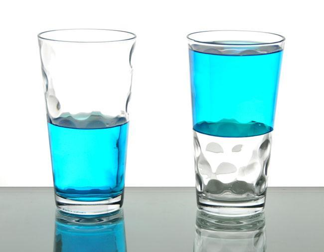 Do you see the cup half empty or half full?