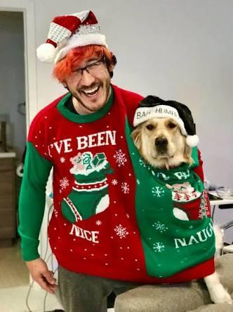 "What Comes Next In Song "" Markipliers 12 Days Of Christmas"" song? (The Seventh Day)"
