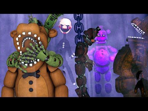 At the sfm Masters: EVIL PLAN. SpringTrap capture what like animatronic?
