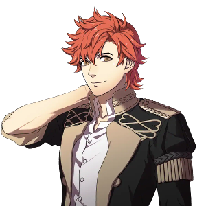 You're walking around the monastery grounds and Sylvain starts flirting with you, what do you do?