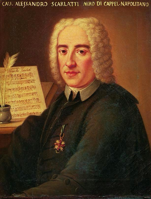 What was the name of Domenico Scarlatti's father?