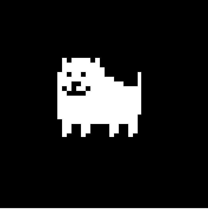 Who does the annoying dog represent?