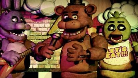 You walk into the restaurant and first see the animatronics. What is your reaction?