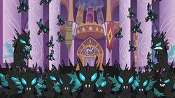Ponyville's under the attack of Changelings! What will you do?