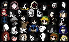 who is your favorite creepypasta out of the answers below?