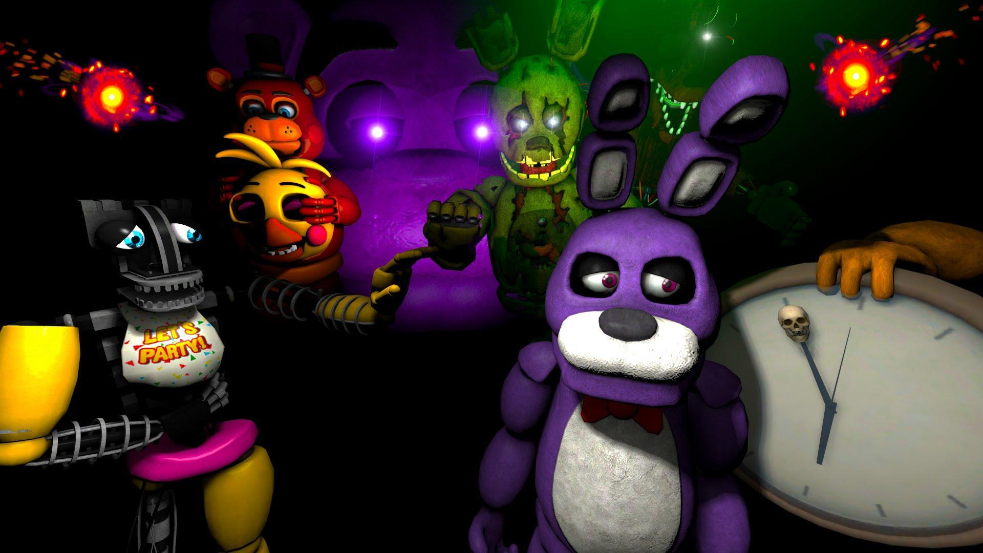 At the sfm Race Against Time. Who is the first animatronic fnaf 1 animatronic wake up?