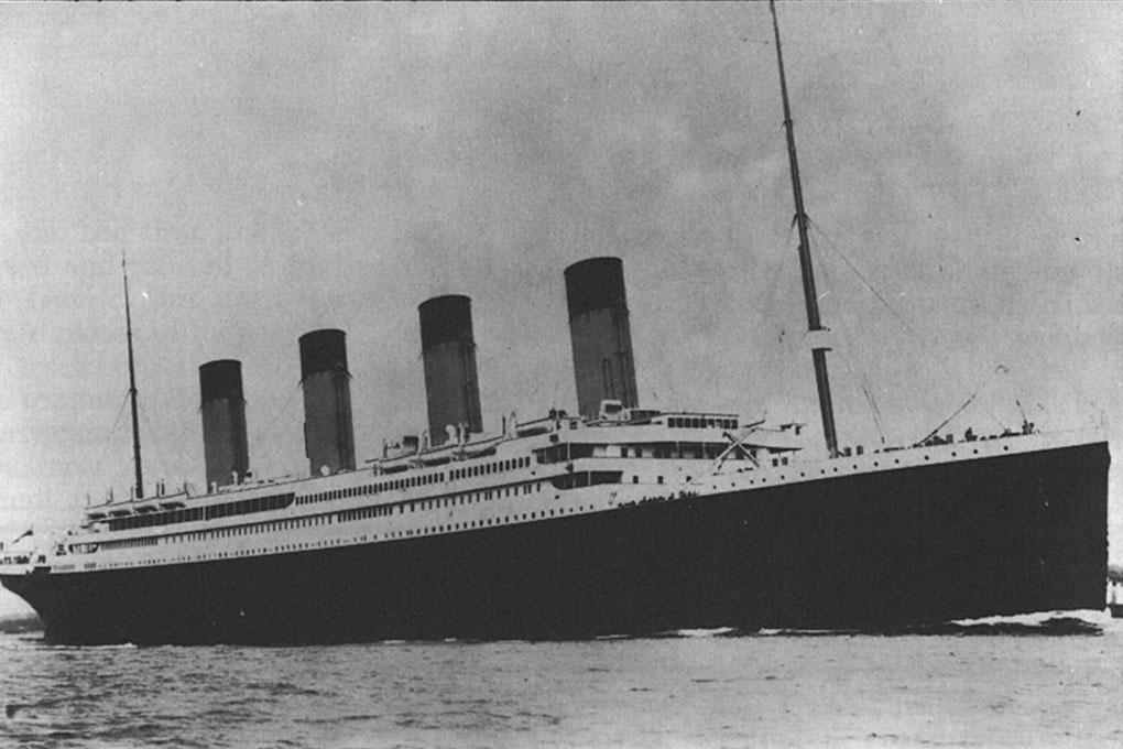 Would you work on the titanic?