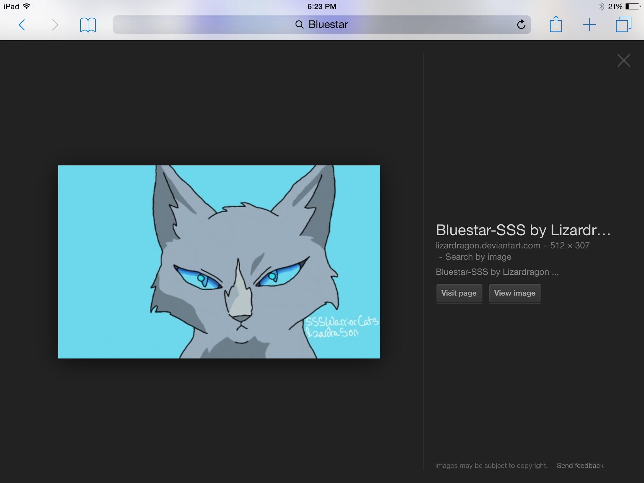 How did Bluestar die?