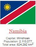 what is capital of Namibia ?