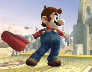 In the Super Smash Bros. series, what are all of Mario's taunts from?