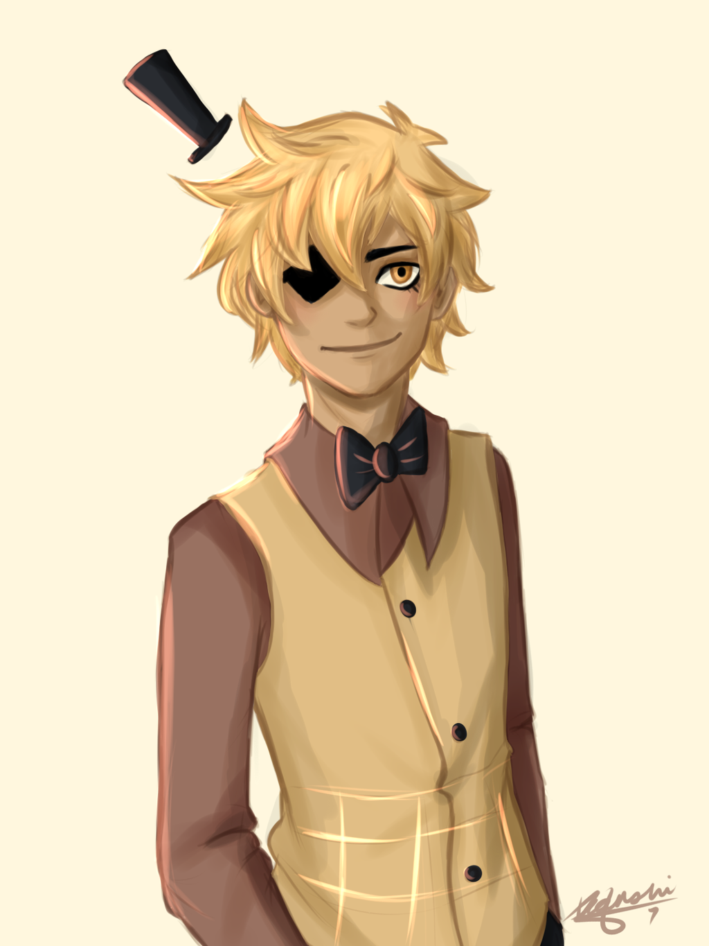 do u think Bill Cipher is cute