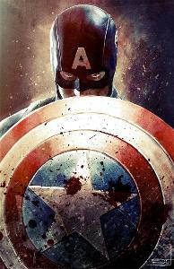Who built Captain America's iconic vibranium shield in the first Captain America movie?
