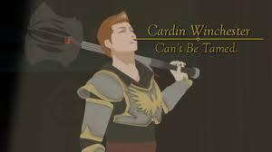 Me: *logs* OK, just a little more. Cardin...   Cardin: Ok, what did I call Jaune when I was asking favors from him?