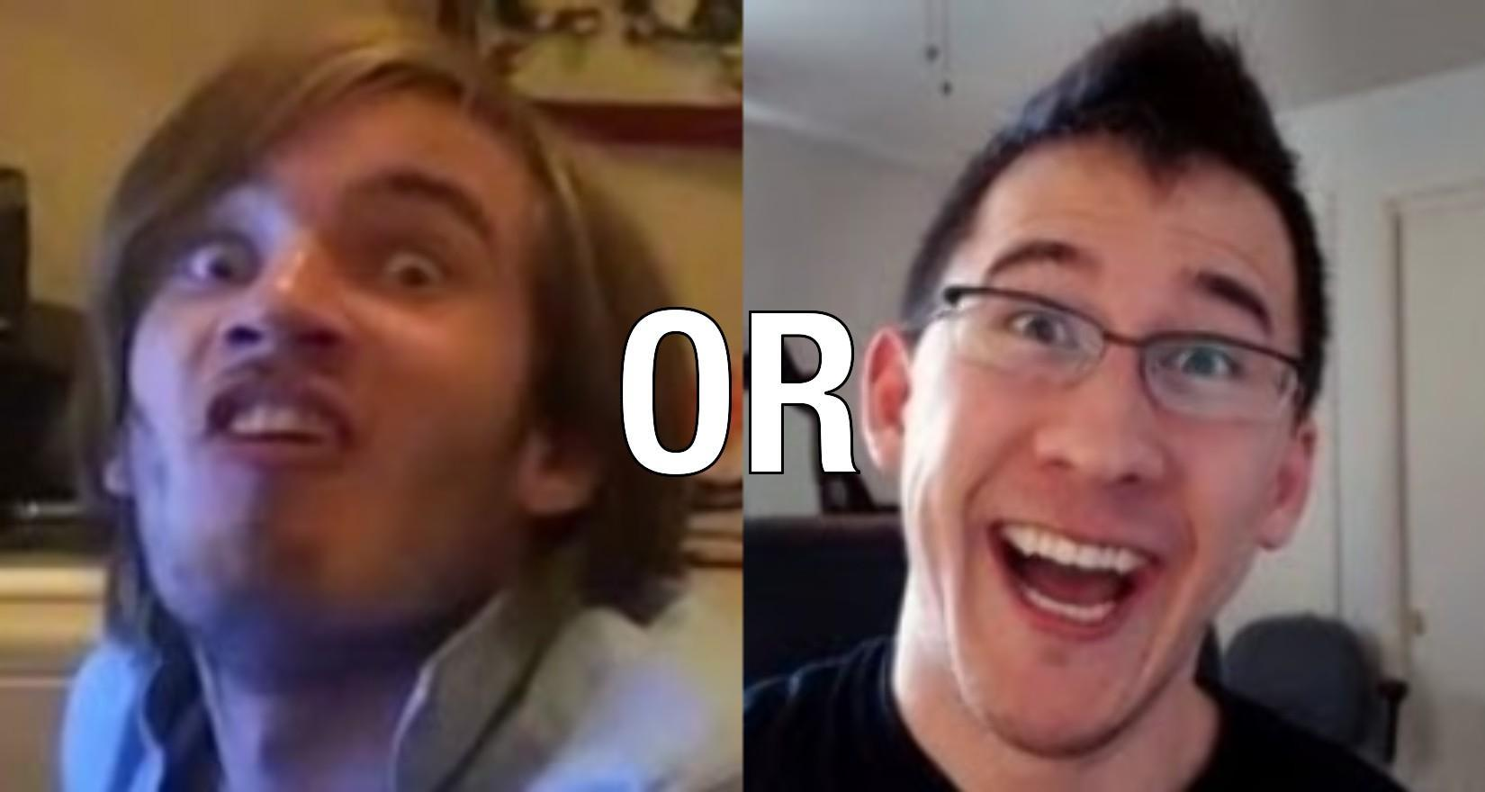 Would You Rather   Spend A Day With Markiplier  Or With Pewdiepie