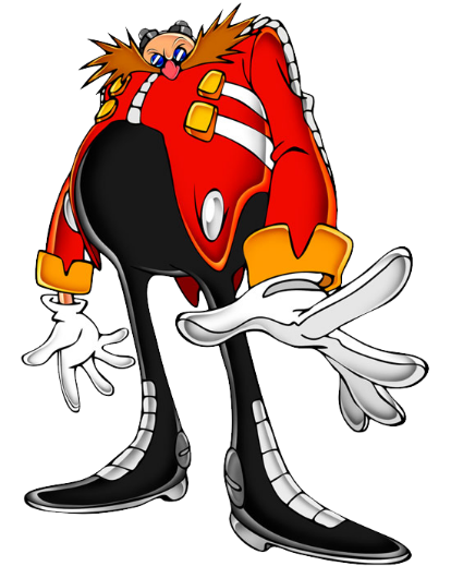 Someone: Hold it right there! Eggman: Who is there? Someone grabs everyone's hand and flys out of the lab, she lets go leaving the whole gang in mid air, you