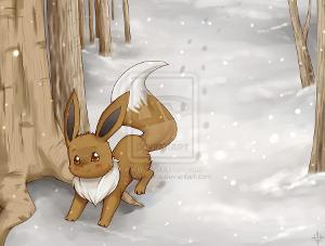 Glaceon: It's snowing outside what do you do