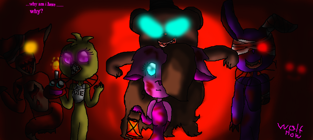 What side does bonnie go on? (in fnaf 1)