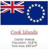 what is capital of Cook Islands ?