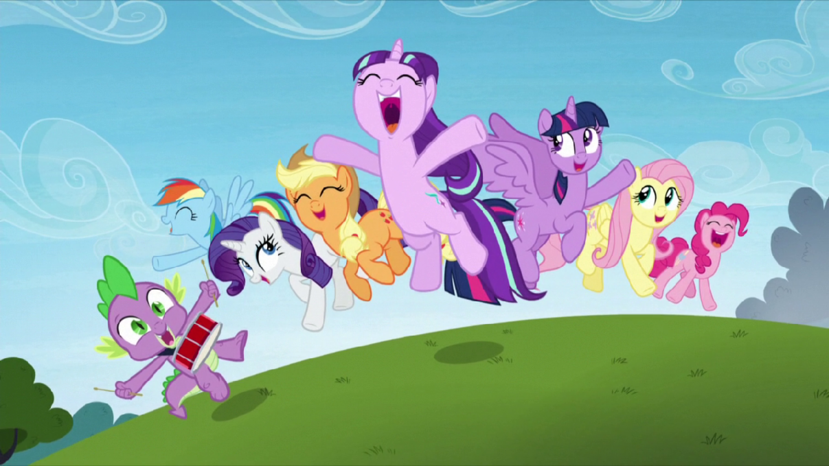 My Little Pony question. If you've seen it, do you like the newest season of Mlp?