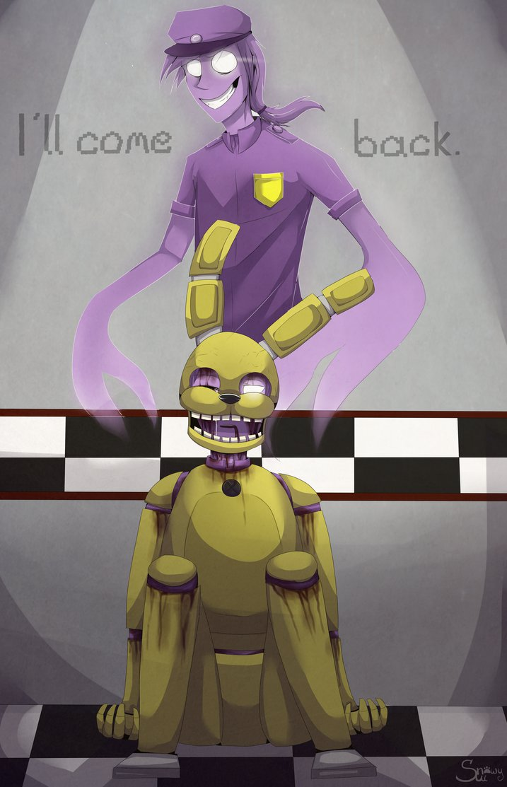 Who is the one behind the murders of the 5 children and soon died in a Spring Bonnie suit? He's called the Purple Guy but he has an actual name.