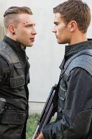Why does Tobias tell Eric that Tris is a silly little girl who got upset when he said no to going out with her?
