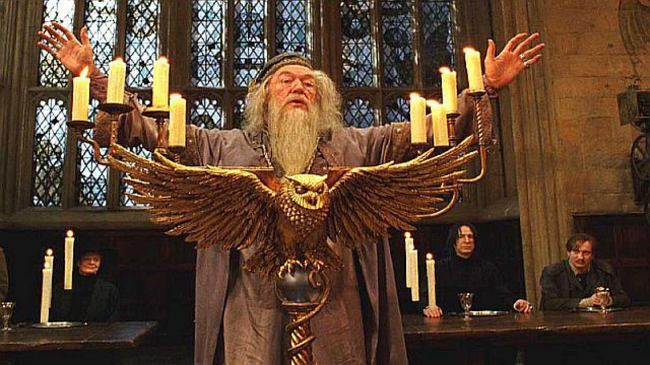 Dumbledore says something embarrassing in front of the whole school! What do you do!?