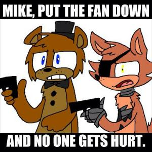 what foxys weakness in fnaf 2