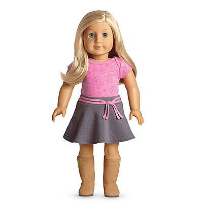 What is American girl doll's motto?