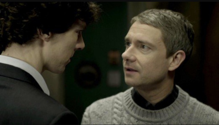 And finally what is the greatest ship of Sherlock