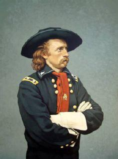 How old was Col George Armstrong Custer when he was first promoted to the rank of Brigadier General?