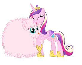 What princess does Fluffle puff live with?