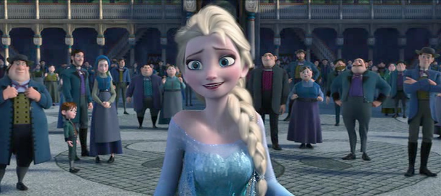 What does Queen Elsa's name mean? Medium. Just the meaning. Period.