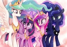 Who are the four princesses?