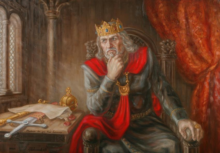 Who was the only king of Lithuania?