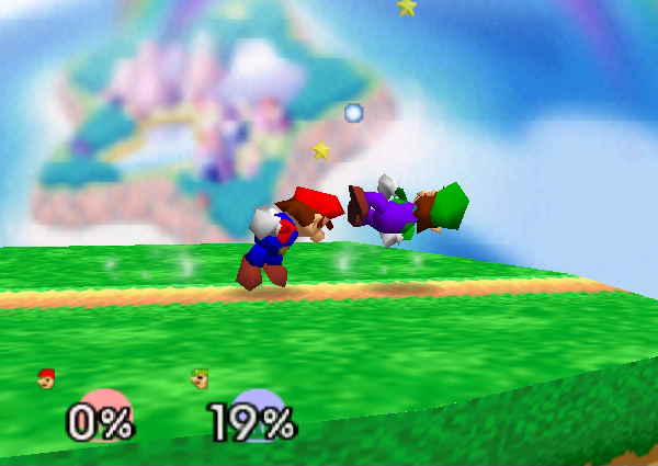 In Super Smash Bros. (64), Mario's Up Smash is the strongest Up Smash in the game yet is tied with one more fighter. That fighter is...