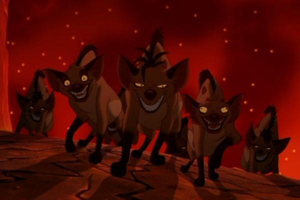 "What are the names of the three hyenas who appeared in ""The Lion King""?"