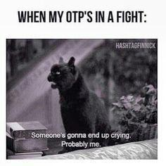 Your otp ends up a ship with someone else..