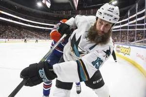 Who was the best player on the San Jose Sharks